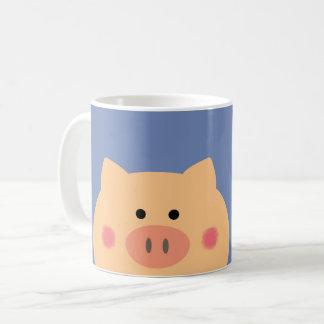 Cara guarra taza de café