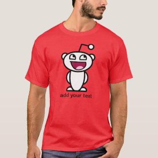 Cara impresionante de Reddit Camiseta