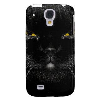 Cara iPhone3G del gato negro