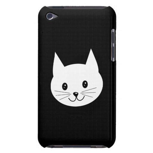 Cara linda del gato iPod touch Case-Mate carcasa