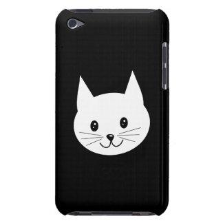 Cara linda del gato funda para iPod de Case-Mate