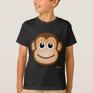 Cara linda del mono camiseta
