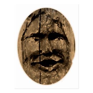 Cara madera face wooden