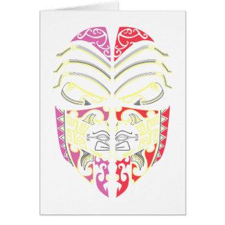 Cara máscara mask face felicitación