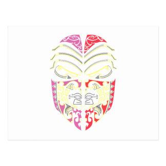 Cara máscara mask face tarjetas postales