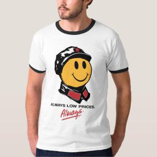Cara sonriente de Mao del presidente - China: Camisas