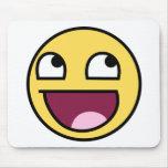Cara sonriente épica Mousepad Tapetes De Ratones