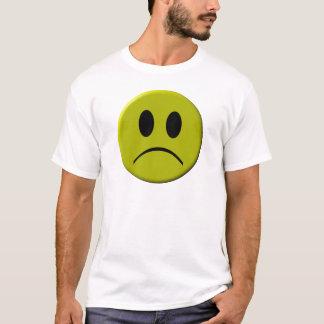 Cara triste camiseta