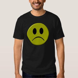 Cara triste camisetas