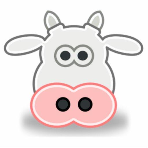La cara de una vaca para dibujar - Imagui
