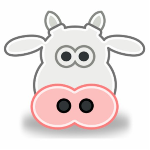 Cara de vacas para pintar - Imagui