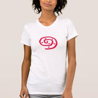 Caracol aborigen camisetas