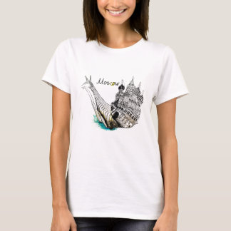 Caracol de Moscú Camiseta