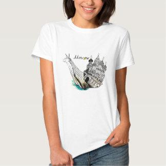 Caracol de Moscú Camisetas