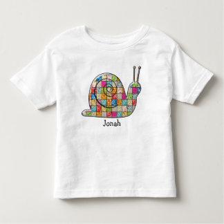 caracol del remiendo camisetas