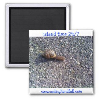 caracol del tiempo de la isla iman para frigorífico