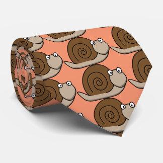 caracol divertido corbatas personalizadas