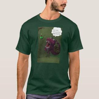 caracol hambriento camiseta