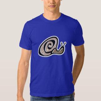Caracol lindo; Azul Camisas