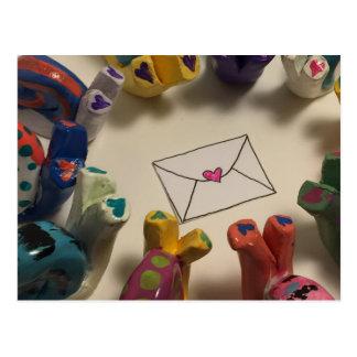 Caracoles del retraso postal