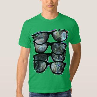 Caracoles Tropicales Camisetas