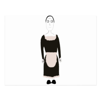 Carácter gótico de la criada del Victorian Postal