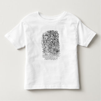 Caracteres y caricaturas camiseta de niño