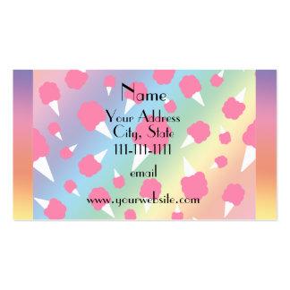 Caramelo de algodón conocido personalizado del tarjetas de visita