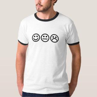 Caras 2 del smiley camiseta