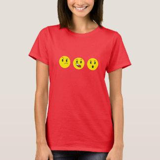caras amarillas camiseta