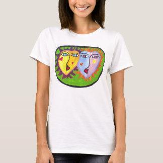 Caras de la diversión camiseta