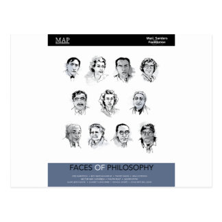 Caras de la filosofía postal