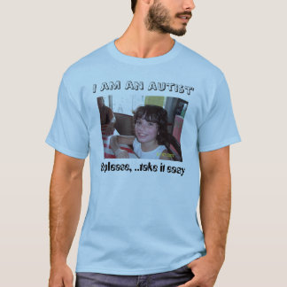 Caras del autismo camiseta