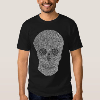 Caras en camiseta de la cara
