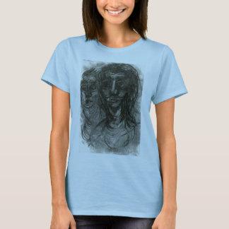 Caras fantasmagóricas camiseta