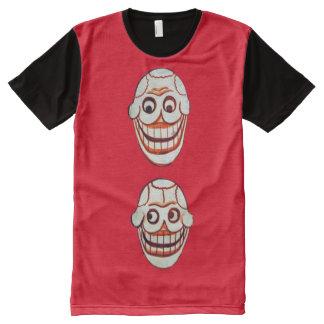 caras himalayan camisetas con estampado integral