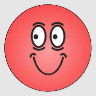 Caras sonrientes tontas de lujo pegatinas