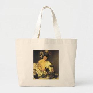 Caravaggio el Bacchus joven Bolsas De Mano