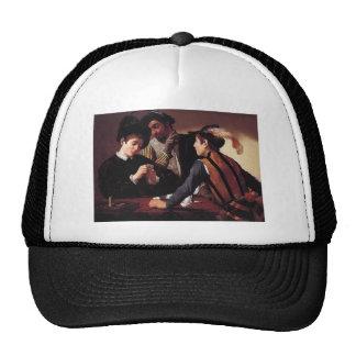 Caravaggio los fulleros gorras