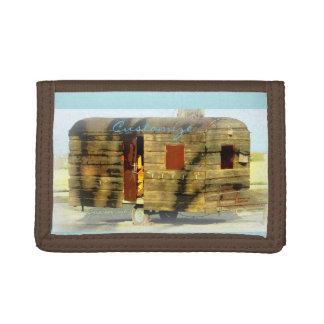 caravana gitana de madera resistida