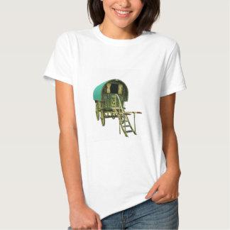 Caravana gitana del bowtop camisetas