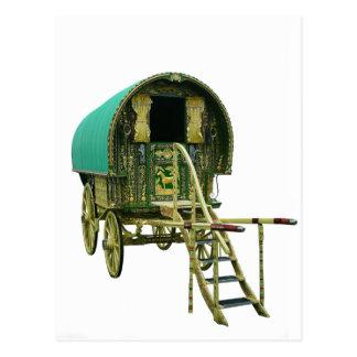 Caravana gitana del bowtop postal