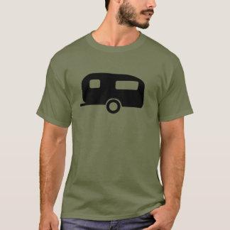 Caravana retra camiseta