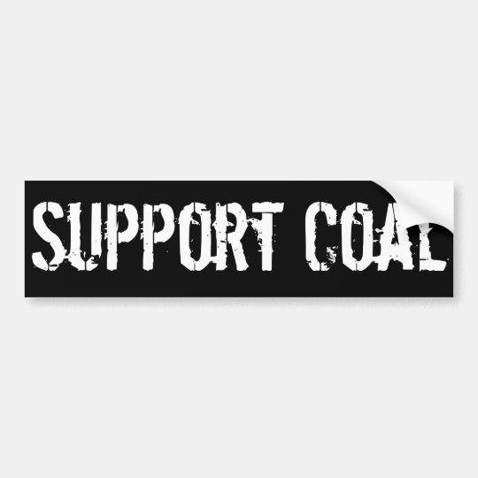 Carbón de la ayuda pegatina para coche