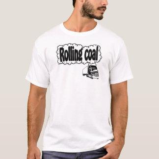 Carbón del balanceo camiseta