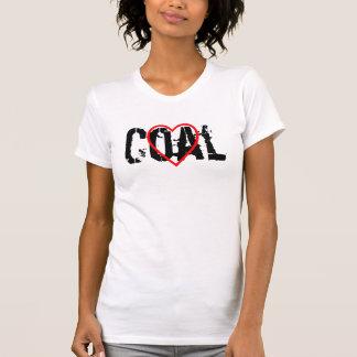 Carbón del ♥ camiseta