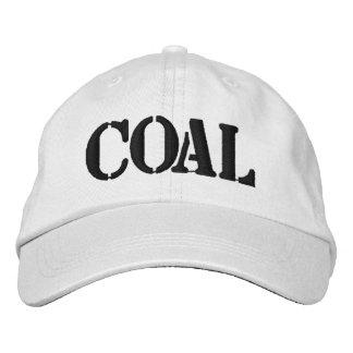 Carbón Gorra Bordada