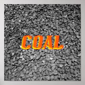 Carbón Póster