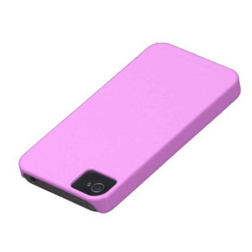 Carcasa Blacberry Bold color rosa Case-Mate iPhone 4 Funda