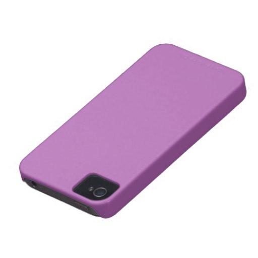 Carcasa Blacberry Bold color violeta iPhone 4 Case-Mate Carcasas
